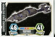 Star Wars Force Attax Series 3 Card #113 Commerce Guild Destroyer