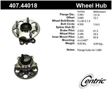 Wheel Bearing and Hub Assembly-Premium Hubs Rear Left Centric 407.44018