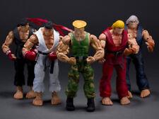 Street Fighter Neca Action figure Lot Complete with Custom Dan Figure Ryu Sota