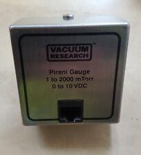 VACUUM RESEARCH 902376 PIRANI GUAGE (U9.3B2)