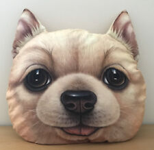 3D Effect Ginger Dog Pillow perfect Christmas or Birthsday present