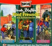 FÜNF FREUNDE - BOX 03-AUF SCHATZSUCHE (GEH. D. OLDTIMERS/GEHEIMGANG/+) 3 CD NEU
