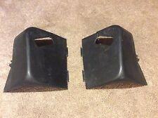 Black Rear 3 point Harness Upper Seat Belt Covers 82-92 3rd Gen Camaro Firebird