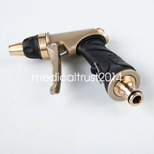 """3/4"""" Hose Nozzle High Pressure Garden Auto Clean Washer Water Gun Sprayer Metal"""