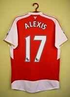 Alexis Sanchez Arsenal Jersey 2015/16 Home Medium Shirt Trikot Camiseta Puma