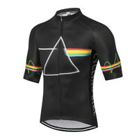 Men's Cycling Short Sleeve Jersey Cycle Clothing Bike MTB Jersey Top S-5XL