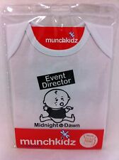 Midnight Dawn Baby T-Shirt Size 6-12 Months Babies Bub Funny Novelty Cute New