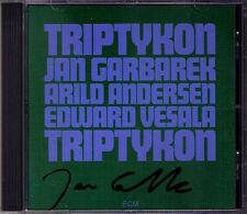 Jan GARBAREK Signed TRIPTYKON Rim Arild Andersen ECM CD Edward Vesala Saxophone