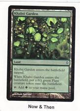 Magic MTG Worldwake: Khalni Garden