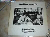 Edoardo Bennato - Burattino senza fili - LP 1977 - 1^ed