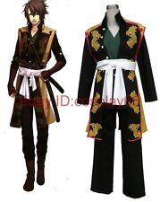anime Hakuouki Shinsengumi Kitan Okita Souji cosplay costume any size custom