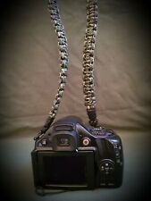 Carp Fishing Paracord Camera Strap