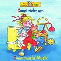 CONNI - 7: CONNI ZIEHT UM/CONNI MACHT MUSIK  CD  6 TRACKS KINDERHÖRSPIEL  NEU