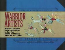 Warrior Artists by Herman Viola Hardback Cheyenne Kiowa Art Signed By Author