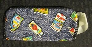 """WACKY PACKAGES Mail-Away? 5.25"""" Cloth Eyeglass Case Holder VF 8.0"""