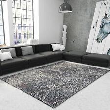 Mosaik Teppich mit Pastell Stein Optik und Hoch Tief Struktur