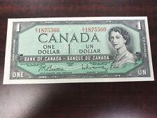 1954 Canada 1 Dollar world paper money Excellent condiiton high value