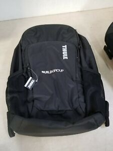 """Thule Achiever 15"""" Backpack, Black, Has Company Logo"""