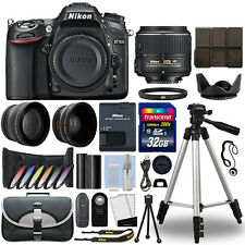 Nikon D7100 Digital SLR Camera + 18-55mm 3 Lens Kit + 32GB Best Value Kit