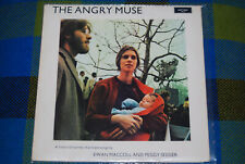EWAN MACCOLL PEGGY SEEGER Angry Muse ARGO UK FOLK LP protest songs