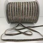 "New 5 yard 3/8""10mm Sparkle Glitter Velvet Ribbon Headband DIY Craft supplies#32"
