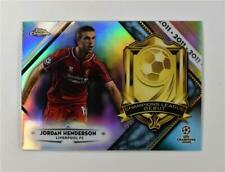 2018-19 Topps Chrome UEFA Champions League Debut #CLD-JH Jordan Henderson