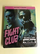 New and Sealed - Fight Club Limited Edition Steelbook (Blu-Ray Disc, 2018)