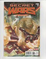 Secret Wars #8 Alex Ross Main Cover Marvel Comic  2015 NM