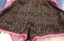 VICTORIA'S SECRET LOVE PINK Running Shorts SEQUIN BLING Small/ Petite
