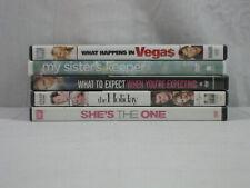Lote 5 películas DVD CAMERON DIAZ cosas muy mala, ella es el, las vacaciones.. en muy buena condición