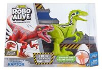 Zuru Robo Vivo Raptor Verde - 38336 Robot Reptil Predator Aterrador Jurásico