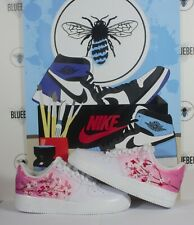 Custom Air Force 1 Cherry Blossoms.