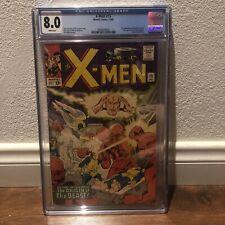 X-Men #15 - Marvel 1965 CGC 8.0 Beast Origin