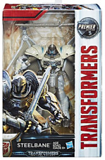 Transformers L'ULTIMO CAVALIERE Premier Movie Deluxe steelbane Action Figure Nuovo