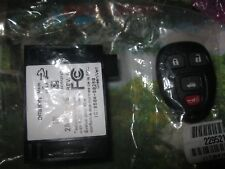 New OEM GM Keyless Entry Receiver &1 OEM New Transmitter Remote Key Fob 22952177