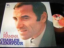 CHARLES AZNAVOUR La Mamma / German LP 1970 BARCLAY METRONOME KMLP 315