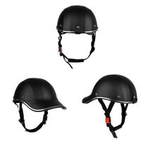 3x Motorcycle Bike Riding Helmet with Adjustable Strap Safety Baseball Cap
