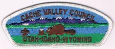Cache Valley Council S-7 Utah-Idaho-Wyoming WHT Brd BLU Bgk BRN FDL CSP 200565