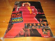 1984 ROD STEWART Concert Video Poster