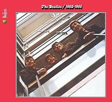 THE BEATLES - 1962-1966 THE RED ALBUM: 2CD ALBUM SET (2009 REMASTERED)