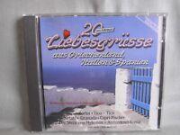 20 Liebesgrüsse aus Griechenland Italien Spanien- K-TEL 1988- No Barcode WIE NEU