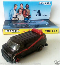 ERTL The A-TEAM GMC Van 1:64 Scale Diecast Model Car on Custom Display Base