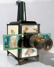 lanterna magica luna johann falk d.r.g.m lanterne magiquein porcellana rara