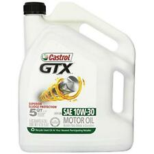 Castrol 03093 GTX 10W-30 Conventional Motor Oil - 5 Quart New
