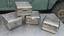 British Army Stainless Cooking Set For No 2/No 12 Cooker. Field Kitchen