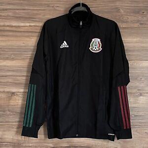 Adidas Men's Mexico FMF Presentation Jacket Seleccion Mexicana Size L New