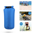 Outdoor Waterproof Canoe Swimming Camping Hiking Backpack Dry Bag Pouch 8L Blue