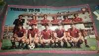 POSTER TORINO intrepido 1975-1976 SQUADRA SCUDETTO CALCIO
