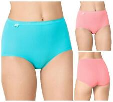 Sloggi Basic Maxi Brief 3 Pack 10105593 Womens Knickers Multi-pack Lingerie