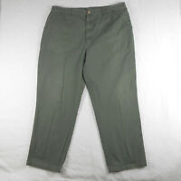 Woolrich Teton Mens Olive Green Outdoor Hiking Work Pockets Pants 42